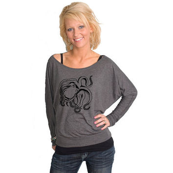 Octopus Bella Dolman Long Sleeve