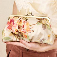 Pastel Floral Lili clutch by BagatellesAndCo on Etsy