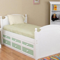 Monahan Twin Captain's Bed