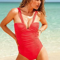 Firm Control Deep V-front One-piece - Magicsuit® - Victoria's Secret