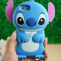 Disney 3d Stitch Movable Ear Flip Hard Case Cover for Iphone 4/4s Xmas gift:Amazon:Cell Phones & Accessories