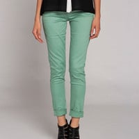 Slack Jeans in Mint