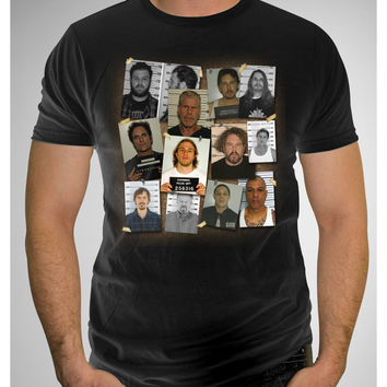 Sons of Anarchy Group Mugshot Tee