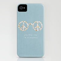 You may say i'm a dreamer iPhone Case by Basilique | Society6