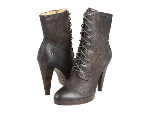 Frye Harlow Lace Up Charcoal - Zappos.com Free Shipping BOTH Ways