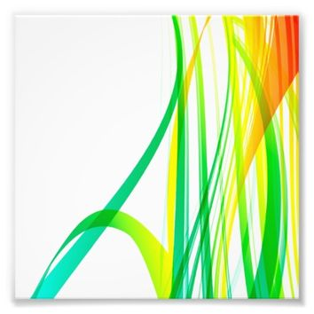 Modern Abstract Colorful Swirls