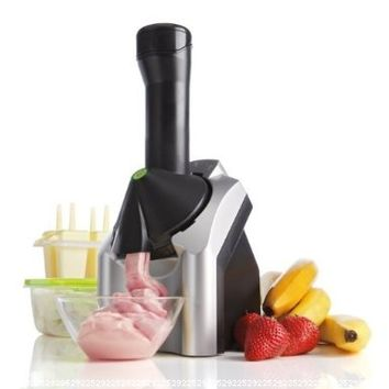 Yonanas 901 Deluxe Ice Cream Treat Maker, Black/Silver:Amazon:Kitchen & Dining