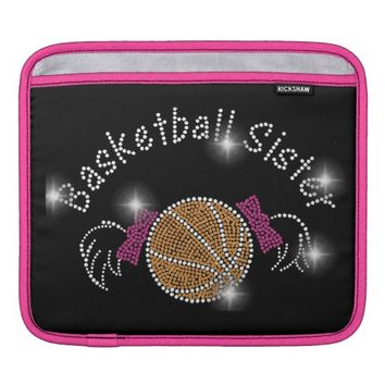 Bling Basketball iPad Sleeve