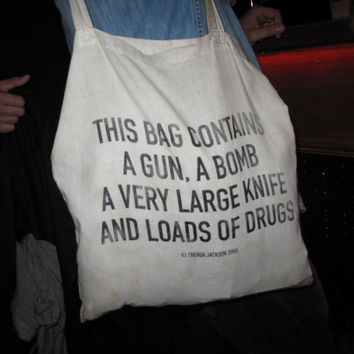 This Bag Contains by Trevor Jackson