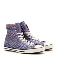 missoni x converse - chuck taylor fancy high-top sneakers