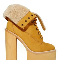 Jeffrey Campbell In Charge Platform Boot