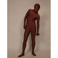 Catsuits & Zentai Coffee Full Body Lycra Spandex Zentai Suit [TWL110915023] - $32.99