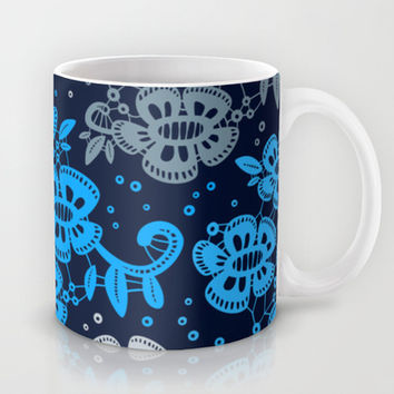 Floral Pattern #10 Mug by Ornaart