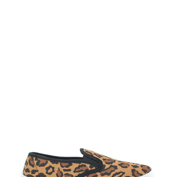 Let It Be Leopard Slip-On Sneakers