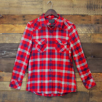 Cabin Sleepover Red Flannel