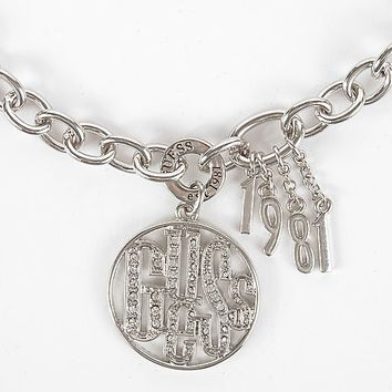 Guess Filigree Logo Necklace