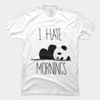 I hate mornings by HappyHellodesign