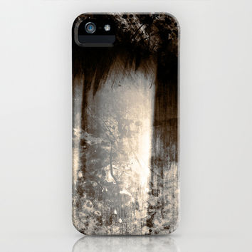 Reign In The Woods iPhone & iPod Case by Timothy Davis