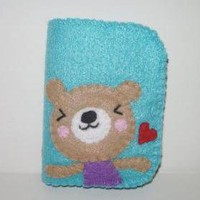 Felt Wallet Kawaii Bear Bifold on Luulla