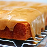 Caramel Cake Recipe at Epicurious.com