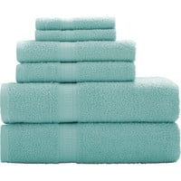 Walmart: Mainstays Basic 6-Piece Towel Set