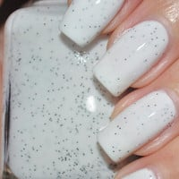 Cookies and Cream Black and White Nail Polish 15ml (.5oz)