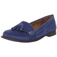 Scarpe Diem Women`s Sdmoka Slip-On Loafer,Suede Iris,38 EU/7.5 M US