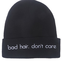 Don't Care Beanie | Wet Seal