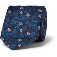Penrose - Embroidered Woven-Silk Tie | MR PORTER