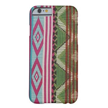 Ikat Tribal pattern iPhone 6