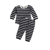 BABY PETIT BATEAU® TWO-PIECE ENSEMBLE IN STRIPE