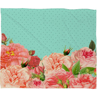 Allyson Johnson Sweetest Floral Fleece Throw Blanket