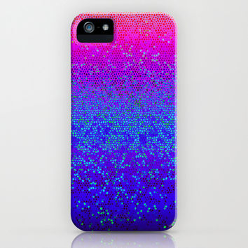Glitter Star Dust G248 iPhone & iPod Case by MedusArt