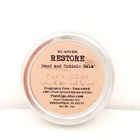Cuticle Balm - 100% Natural Vegan Herbal Skin Remedy - Cuticle Salve for Cracked Heels, Nails, Dry Skins and More