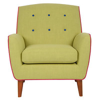 Buy John Lewis Battersea Armchair, Calypso/ Watermelon/ Sapphire  online at JohnLewis.com