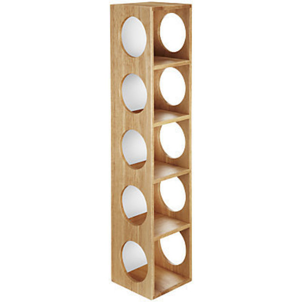 Buy John Lewis 5 Bottle Wall Wine Rack online at JohnLewis.com