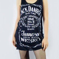 JACK DANIELS Sour Mash Tennessee Whiskey Old No.7 Brand