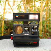 Polaroid Autofocus 660 600 Land Camera Vintage 80&#x27;s