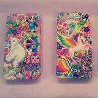 Lisa Frank iPhone4 case - 90's vintage style