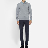 Brioni - Knitted-Cashmere Sweater | MR PORTER