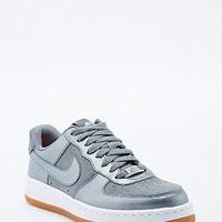Nike Air Force 1 Low Leather Trainers in Silver - Urban Outfitters