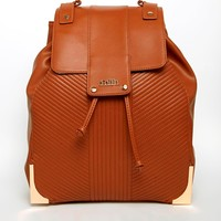 Faith Ribbed Quilted Backpack