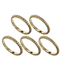 Rope Mixed Size Ring Pack
