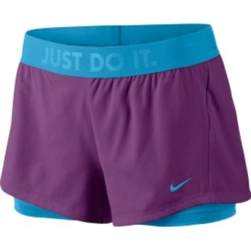 Nike Women's Circuit 2-in-1 Training Shorts - Dick's Sporting Goods