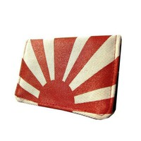 Rising Sun Slim Wallet by QuietDoing on Etsy