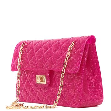Quilted Jelly Purse from ROXX at ShopRoxx.com