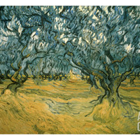 Olive Trees Art Print by Vincent van Gogh at Art.com