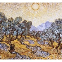 The Olive Trees Giclee Print by Vincent van Gogh at Art.com
