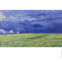 Wheatfields under Thunderclouds, 1890 Giclee Print by Vincent van Gogh at Art.com