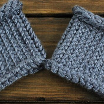Womens Boot cuffs Button Boot toppers Fall and winter boot cuffs Ankle warmers Boot socks Stretchy Boot Toppers in light blue